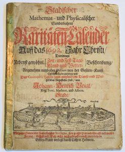 Stadischer kalender 1792 kansilehti