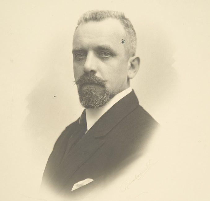 Carl Enckell Cajander I hallituksen ulkoasiainministeri, 1922.