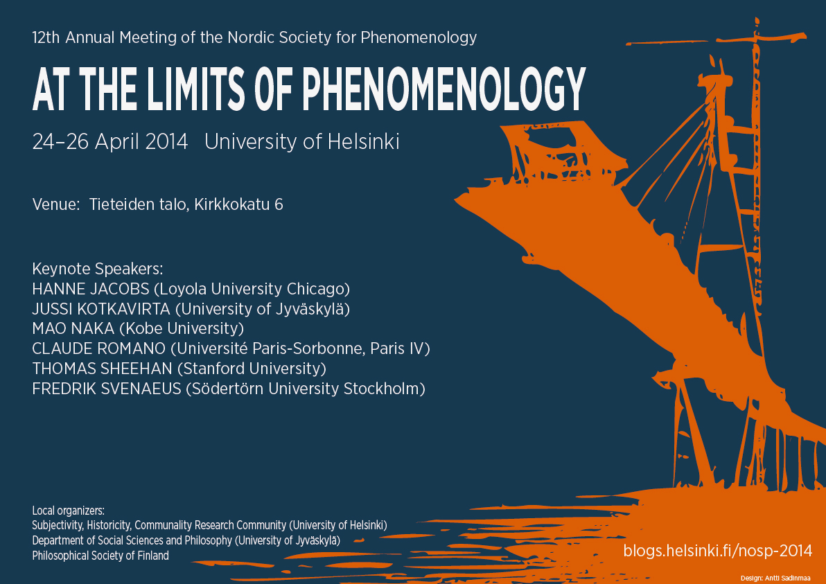 NoSP2014 At the Limits of Phenomenology