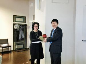 Professor Hannele Niemi & Vice Dean, Professor Shang Junjie (尚俊杰)