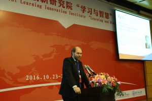 Mika Tirronen Counsellor of Education and Science Embassy of Filnland, Beijing