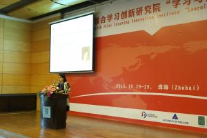 Professor Hannele Niemi Chair of the Sino - Finnish Joint Learning Innovation Institute, University of Helsinki