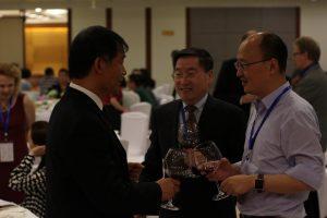 Professors Tu Qingyun (涂清云), Zhou Zuoyu (周作宇) & Liu Jia (刘嘉)