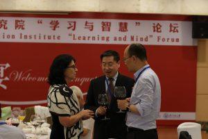 Professors Hannele Niemi, Zhou Zuoyu (周作宇) & Liu Jia (刘嘉)