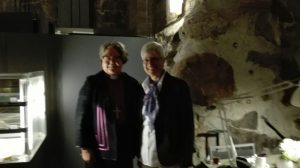 Bishop Irja Askola of Helsinki and Prof. Dagmar Heller, the President of Societas Oecumenica.