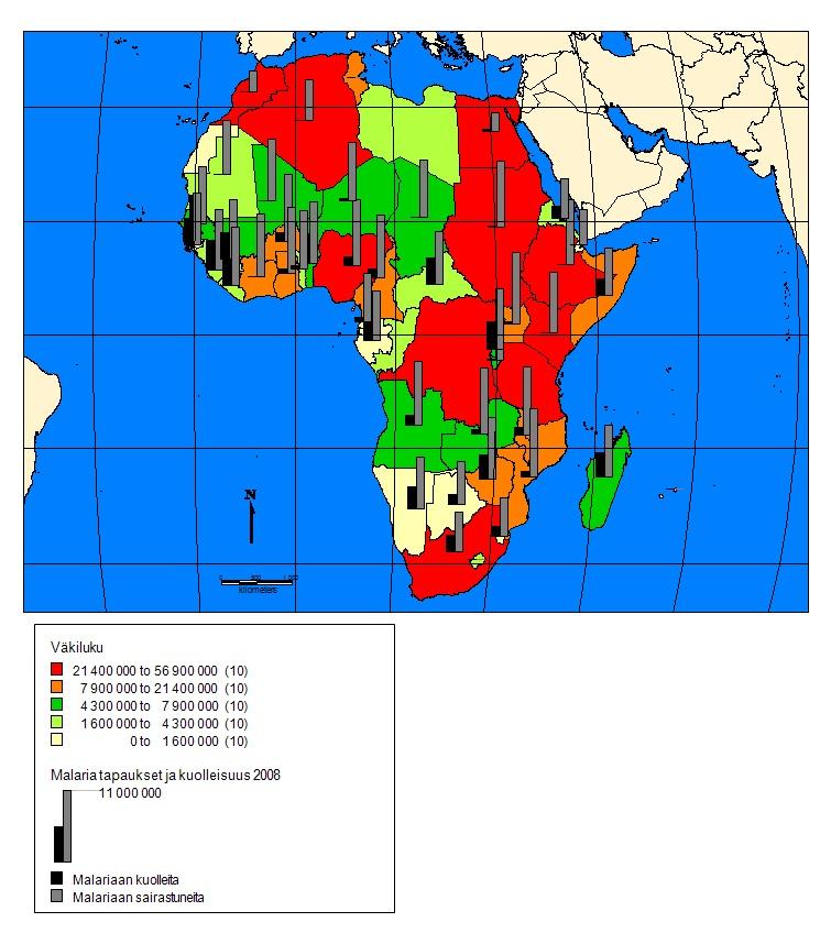Kuva 1. Afrikka