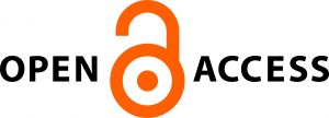 """Logo with the words """"Open Access"""" and image of an open lock"""