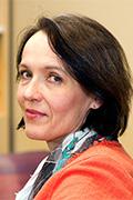 Dekaani Liisa Laakso. Kuva: Linda Tammisto