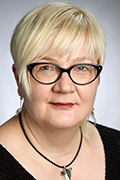 Professori Johanna Mäkelä. Kuva: Ari Aalto