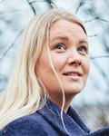 Teknologiajohtaja Reetta Kivelä. Kuva: Vilja Pursiainen, Kaskas-media