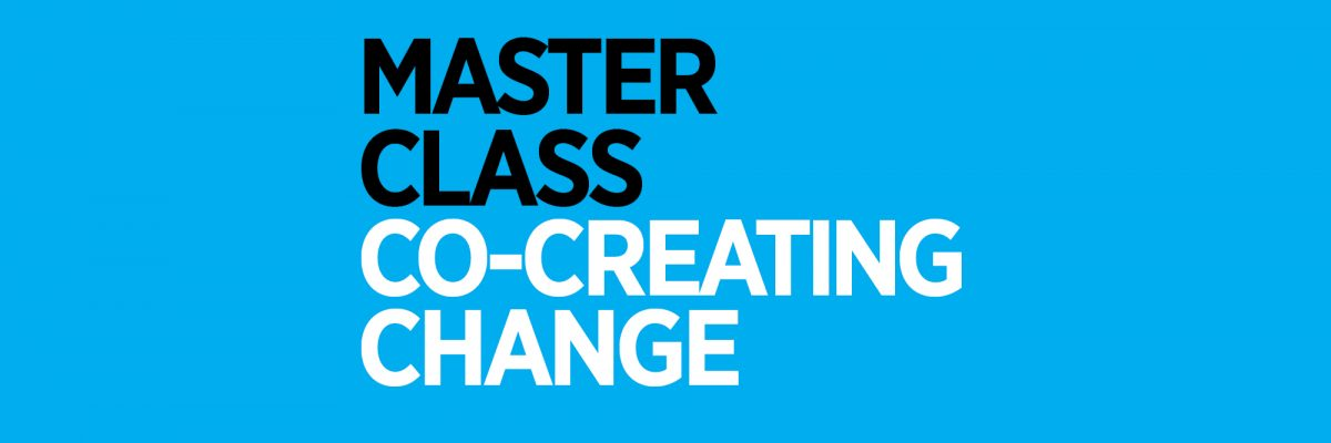 Apply for Sustainable Master Class 2018!
