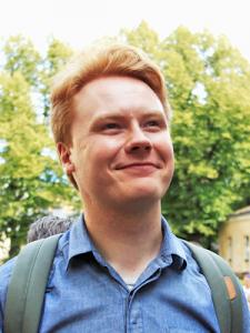 Tuomas Heikkilä. Photo: Mona Roininen.