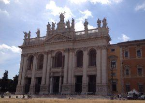 Lateraanikirkon fasadi