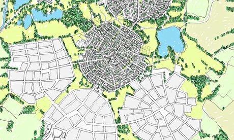 David Rudlin's 'garden cities' approach.