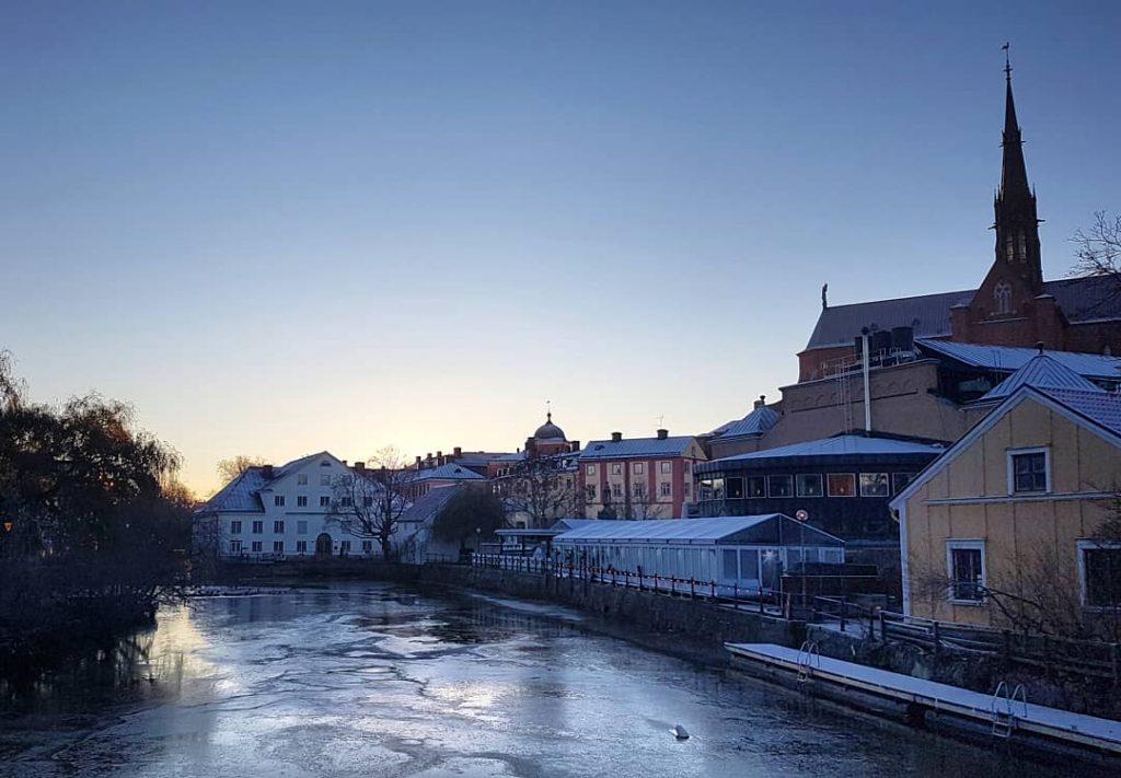 Ensimmäinen jää - Uppsala universitet