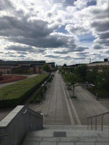 Kuva Örebron yliopiston kampuksesta