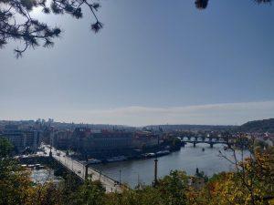 Päivämaisema Prahasta