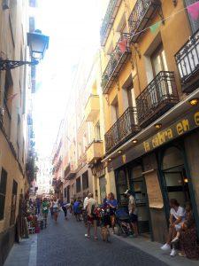 Kapea katu Madridissa