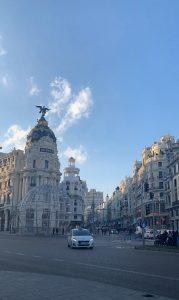 Upeaa Madridin keskustaa