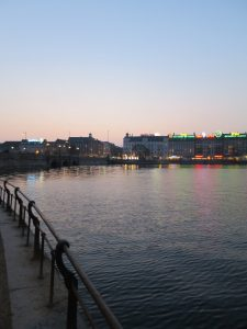 Kööpenhamina auringonlaskun aikaan