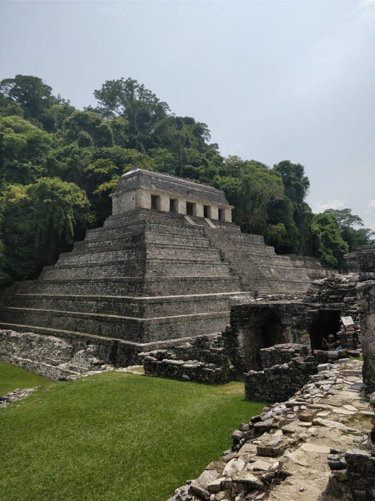 Palenquen Maya-pyramidi
