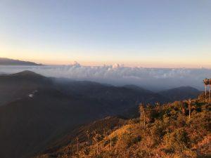 Vuoristonäkymä Kolumbiasta