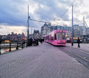 Amsterdamin keskusta (kuva: Henna Ojalehto)