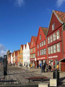 Bryggen, Bergenin keskustassa