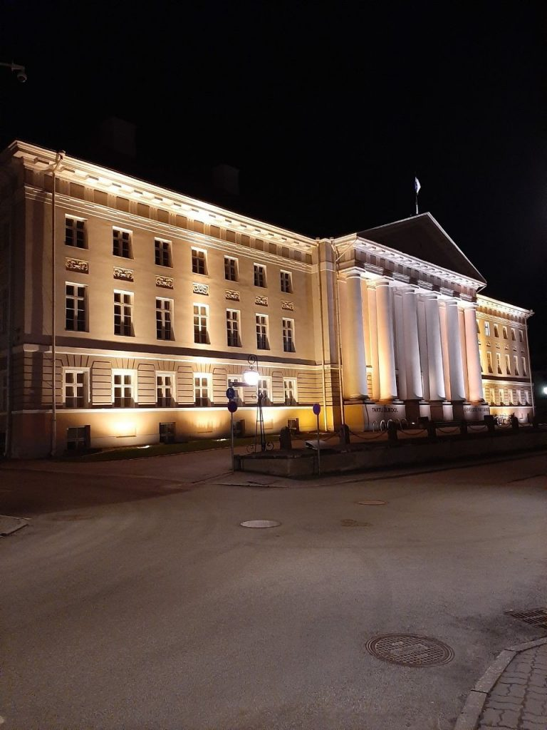 Main building of the University of Tarto