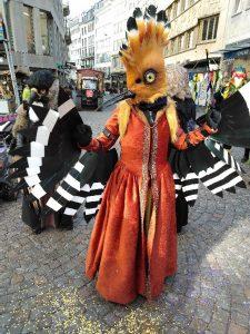 Kuvia Luzernin karnevaaleilta