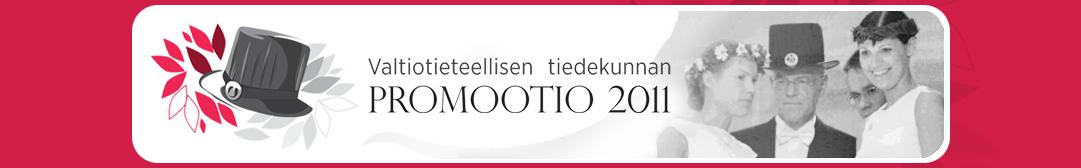 Valtiotieteellisen tiedekunnan promootio 2011