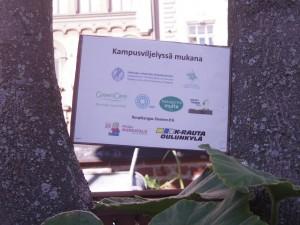 Kampusviljelyn yhteistyökumppaneita (Kuva: Antti Seppälä)