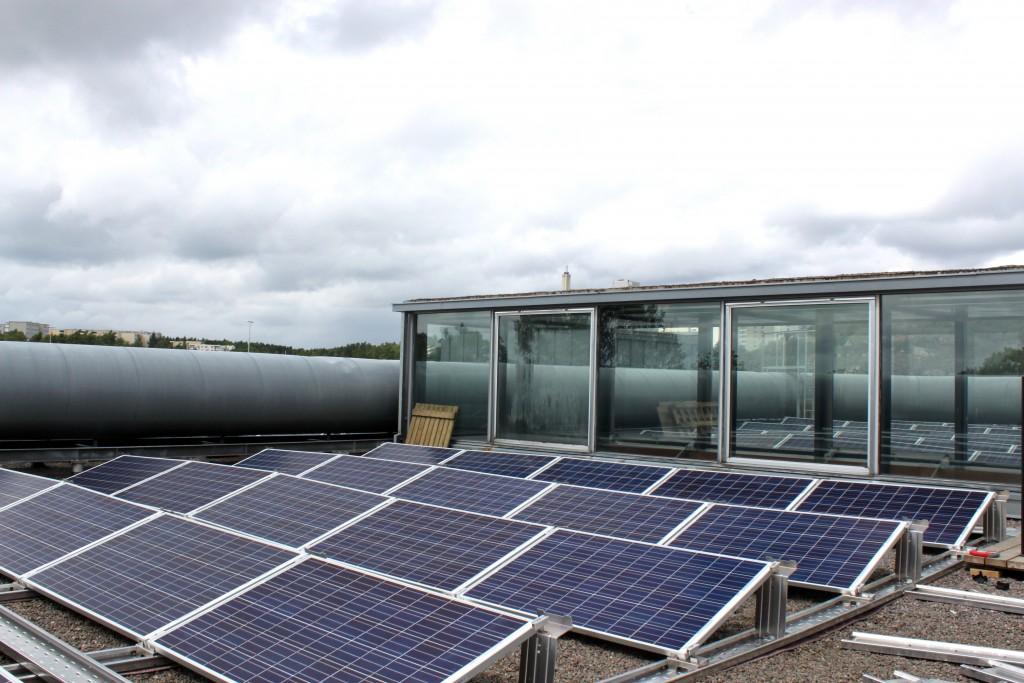 Aurinkopaneeleista ekologiaa