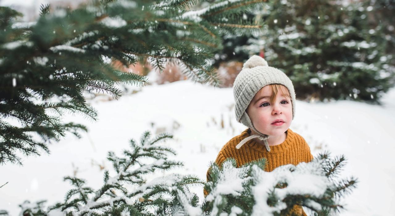 toddler snow